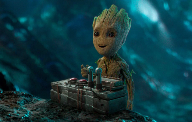 Baby Groot en Guardianes de la Galaxia Vol. 2