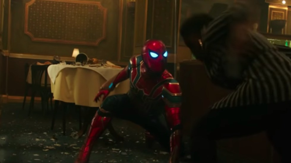 trailer spiderman far from home tom holland