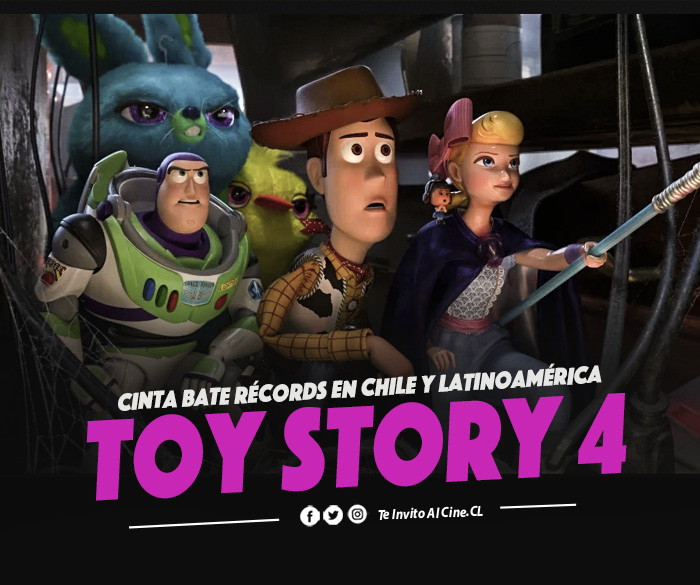 «Toy Story 4» bate récords infinitos en Chile y Latinoamérica