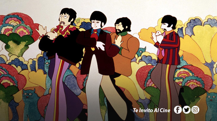 Yellow Submarine de The Beatles se transmitirá gratis en YouTube