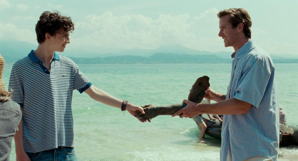 call me by your name, película con tematica lgbtiq+