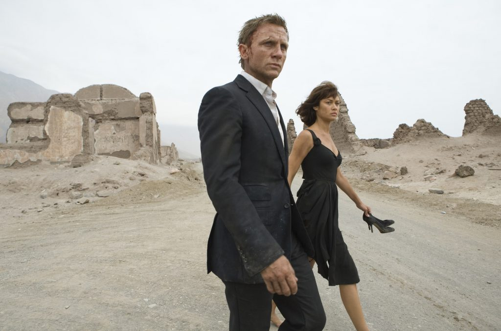OO7 Quantum of Solace Chile