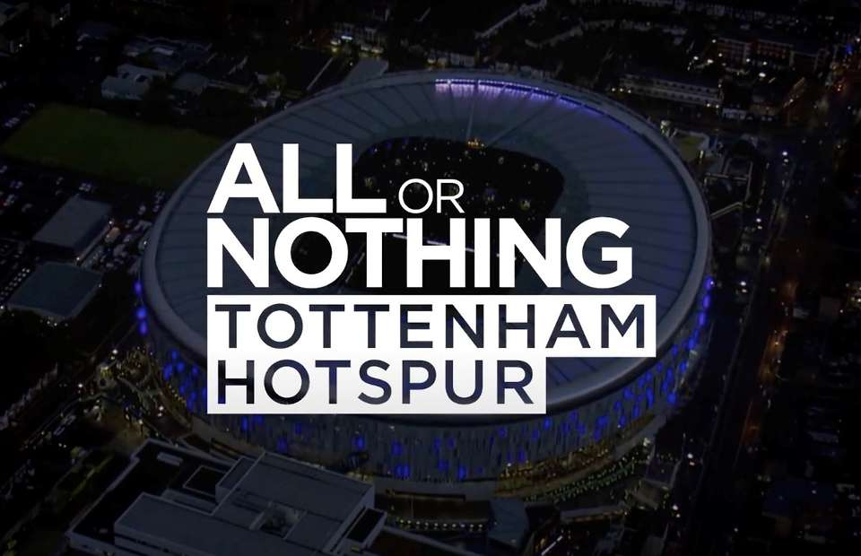 tottenham hotspur, all or nothing, estrenos agosto amazon prime video