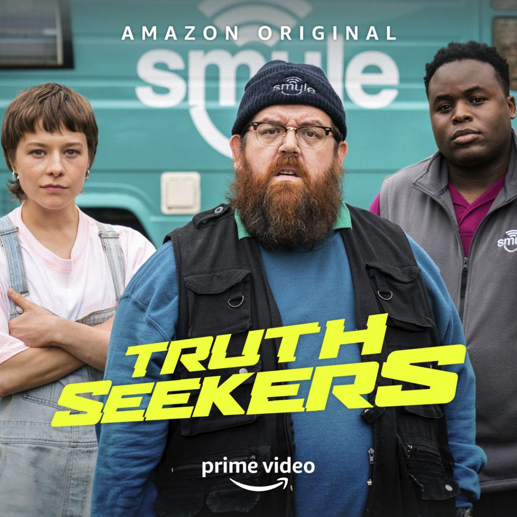 Truth Seekers, Amazon prime video, comic con home
