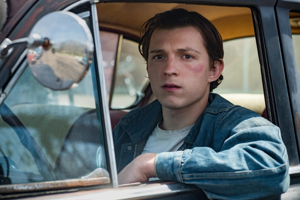 tom holland, el diablo a todas horas, netflix