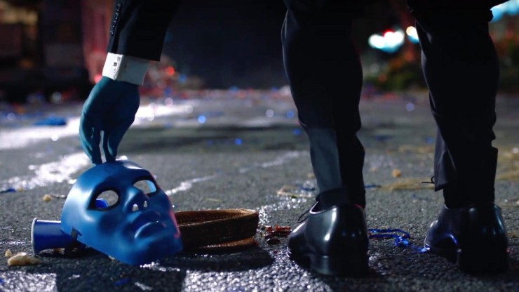 watchmen hbo review dr manhattan