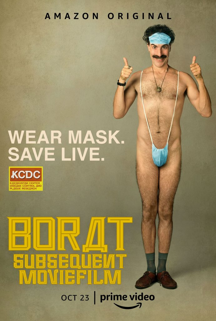 Borat subsequent moviefilm trailer, Amazon Prime Video