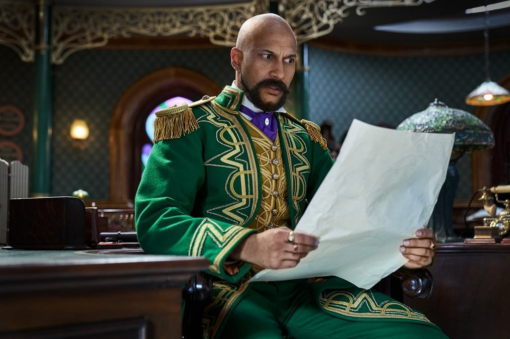 Keegan-Michael Key en Jingle Jangle una magica Navidad