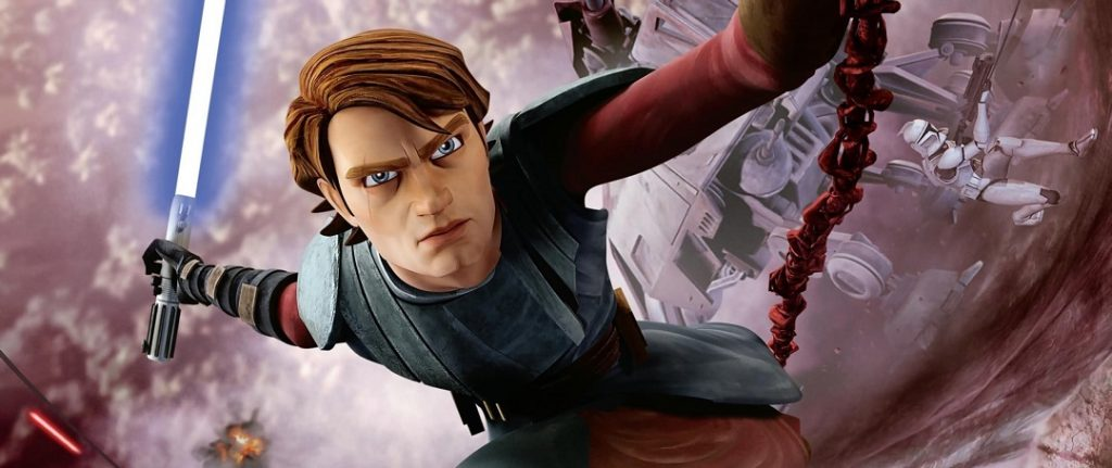 Review Star Wars: La guerra de los clones temporada 1 Anakin Skywalker