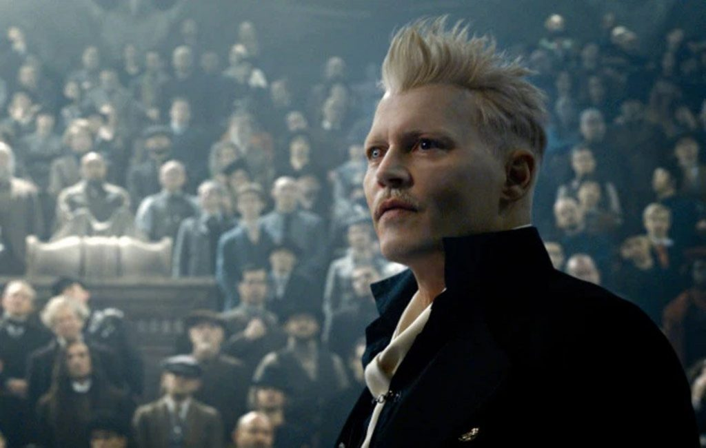johnny depp, animales fantasticos, los crimenes de grindelwald, amazon prime video