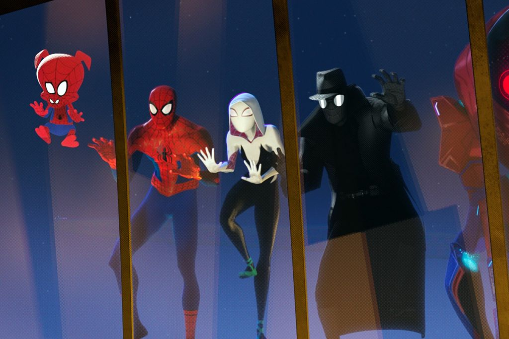 spiderman, into the spiderverse, estrenos, diciembre, amazon prime video