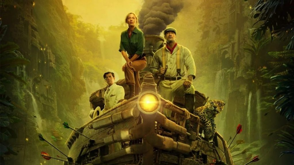 jungle cruise emily blunt dwayne johnson, anuncios disney investor day