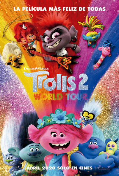 Trolls 2, World Tour – Estreno 2021