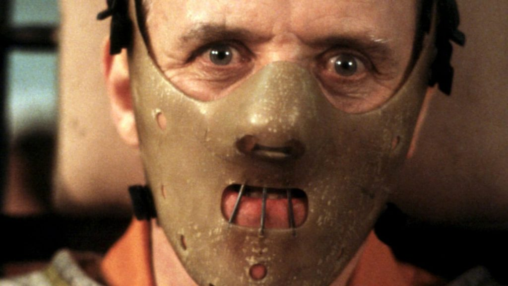 The Silence of the Lambs, Anthony Hopkins, Top 10 thrillers