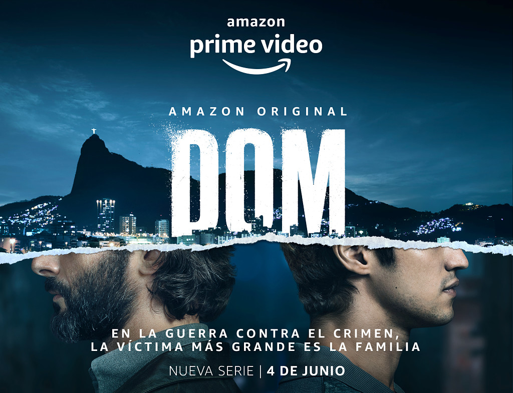 dom, amazon prime video, serie brasileña, trailer