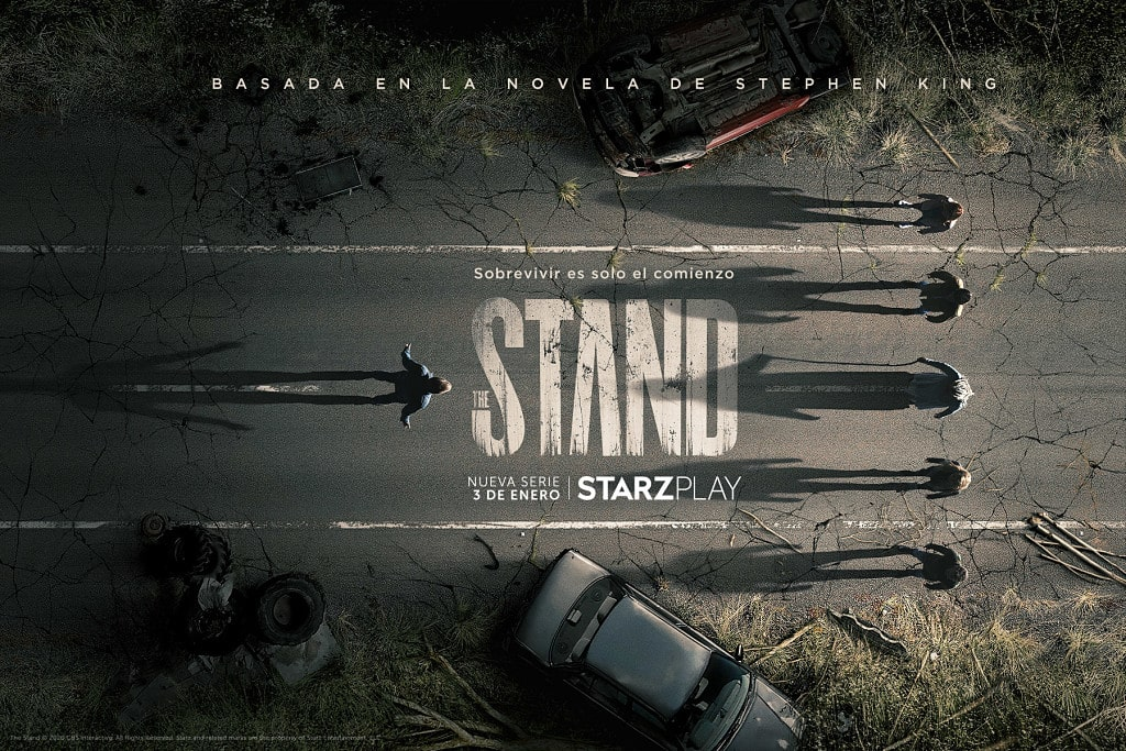 the stand, starzplay, stephen king, series