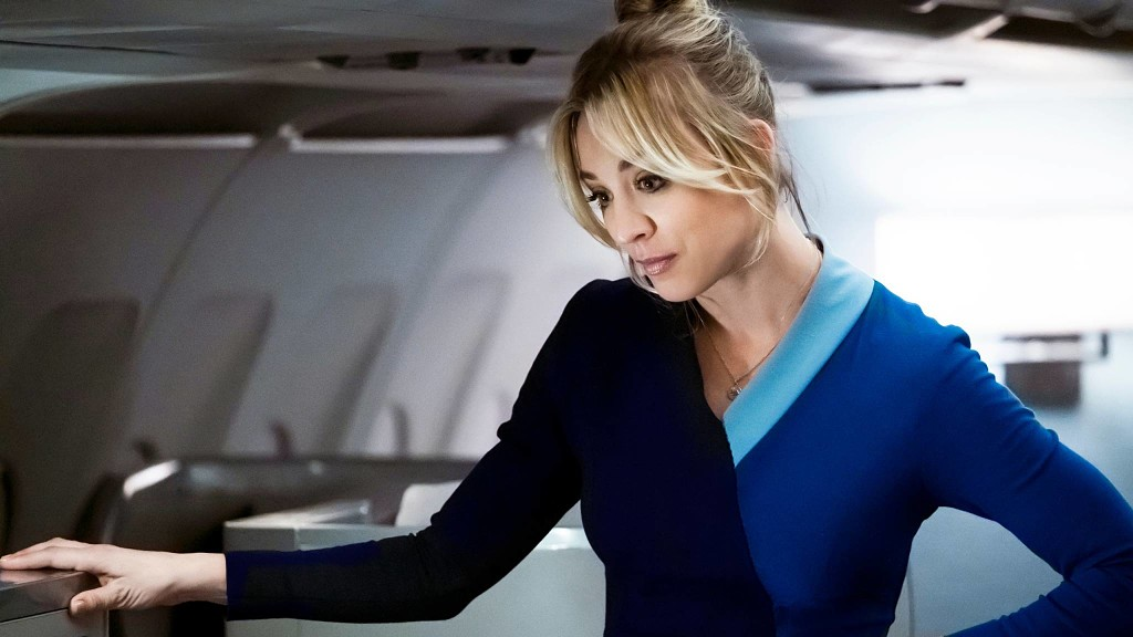 The flight attendant, kaley cuoco, series, hbo max